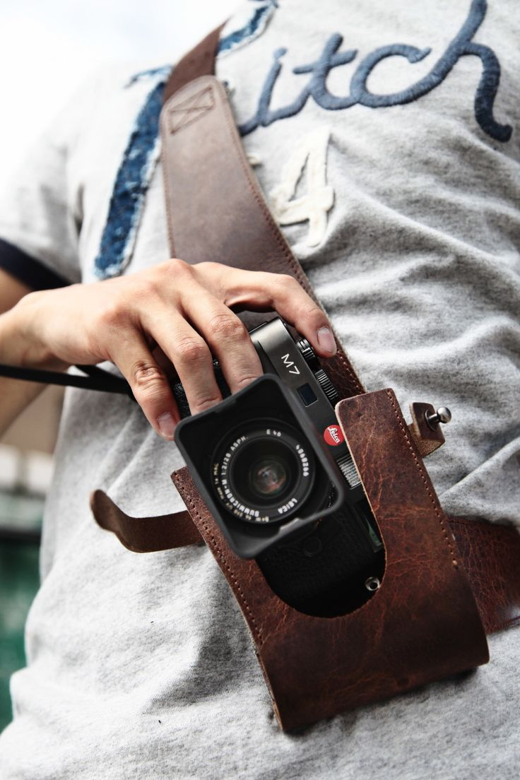Wotancraft WWII Reporter Camera Holster. I would love it ... before I have to buy a new Leica :-)