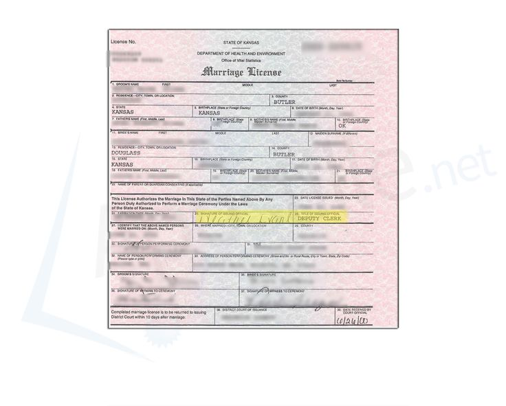 12 best State of Kansas Sample Apostille images on Pinterest - sample marriage certificate