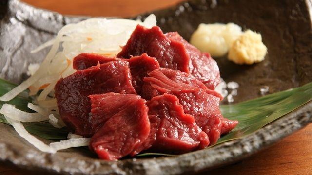 肉汁餃子製作所 ダンダダン酒場  馬刺し