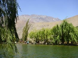En esta laguna me encantaría darme un chapuzón! Es en el Valle de Elqui y la foto la mandó Mila Diaz.