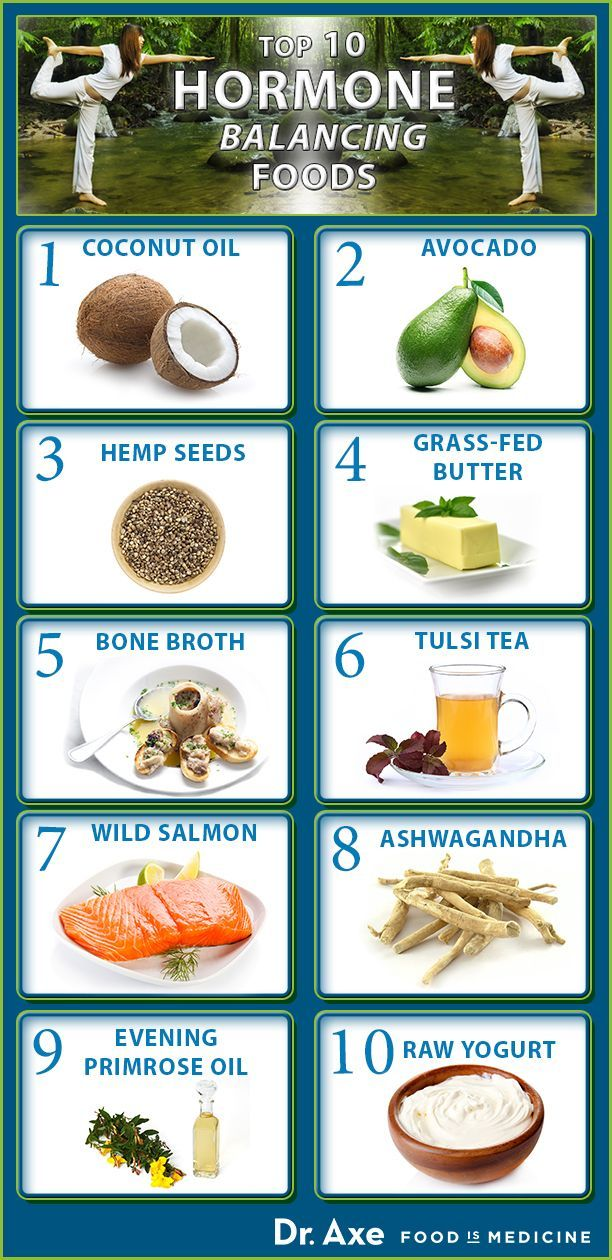Picture: 10 Top Foods to Balance Hormones, follow link for article of 10 Ways To Naturally Balance Hormones
