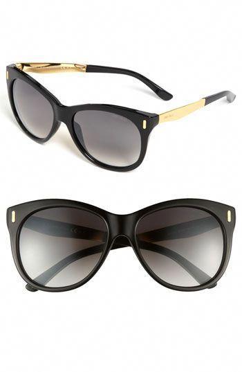 7ec6daf0f4fc1 Jimmy Choo  Ally  56mm Retro Sunglasses available at  Nordstrom  JimmyChoo