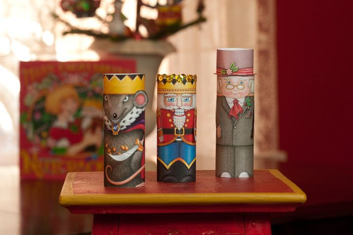 Nutcracker Finger Puppets
