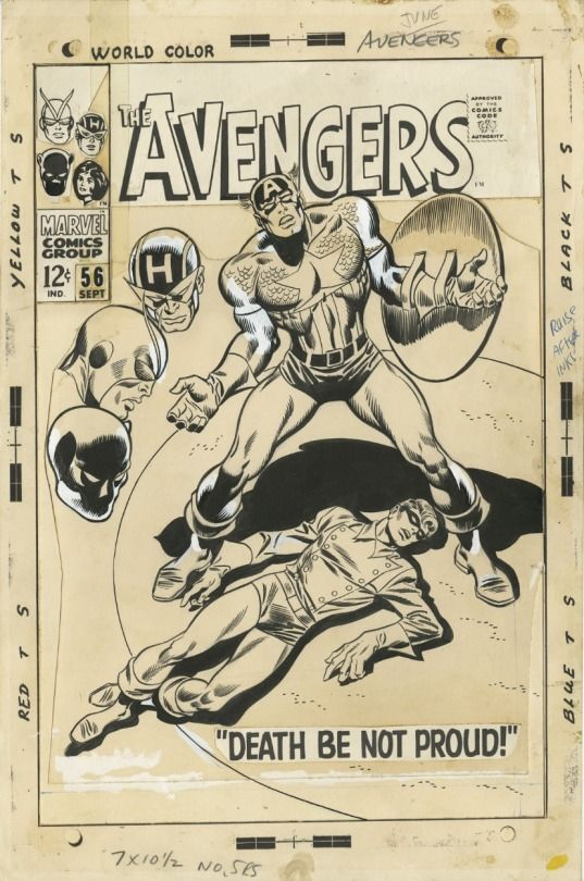 Avengers #56 pencil cover by John Buscema tumblr_njfhaeIks11qhpx4lo1_540.jpg (537×810)