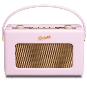 Roberts RD60 Revival DAB/FM RDS Digital Radio with Up to 120 Hours Battery Life - Pastel Pink: Amazon.co.uk: Electronics