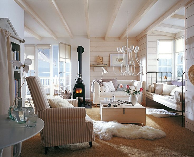 13 besten Wohnzimmer Bilder auf Pinterest Rund ums haus, Haus - landhaus wohnzimmer weis