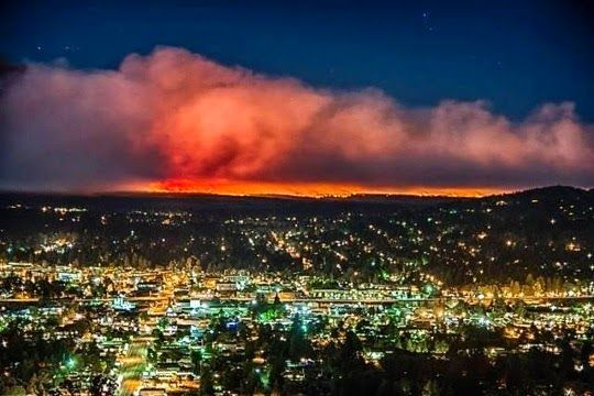 Government Flats Wildfire 2013 | Wildfire - Oregon Dept of Forestry: Government Flats Complex update ...