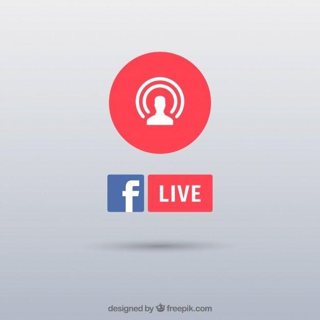 Fundo De Transmissao Ao Vivo Facebook Icons Live Streaming Social Media Banner