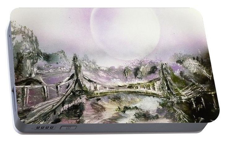 Printed with Fine Art spray painting image Bridge Of Spirits by Nandor Molnar (When you visit the Shop, change the orientation, background color and image size as you wish)