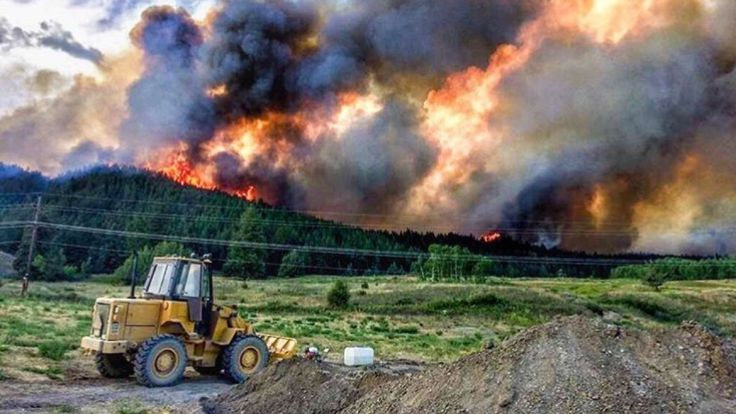 A state of emergency has been declared in the province as wildfires burn out of control across the Interior. The fires have prompted the evacuation of at least one airport, two hospitals, an entire town and hundreds of homes throughout the area.