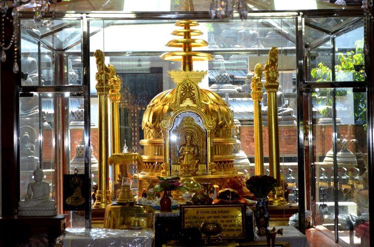 tempio buddista di Gangaramaya Gangaramaya Buddhist temple