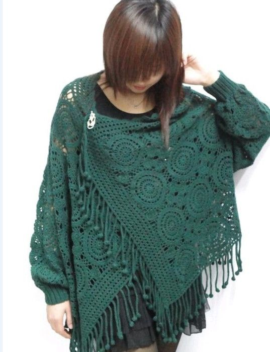 Free Crochet Pattern Wrap Sweater : an interesting model of sweaters: free crochet patterns ...