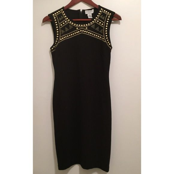 The Perfect Little Black Dress New with tag! Beautiful, sexy and elegant. Back zipper for ease of wearing. Bought for $98, selling now since I don't have a use for it. Carmen Marc Valvo Dresses