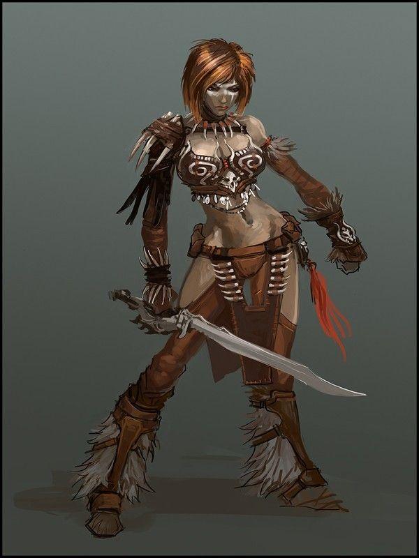 46+ Fantasy female barbarian names ideas