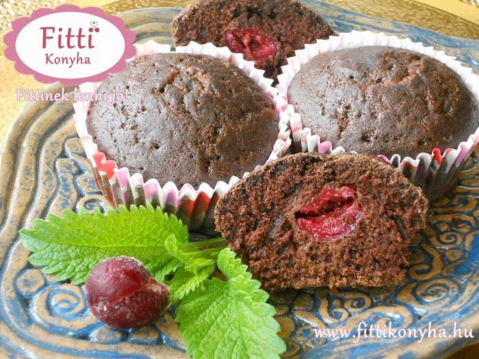 Fitti Konyha: Fitti csokis muffin