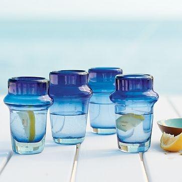 mediterranean inspired glasses