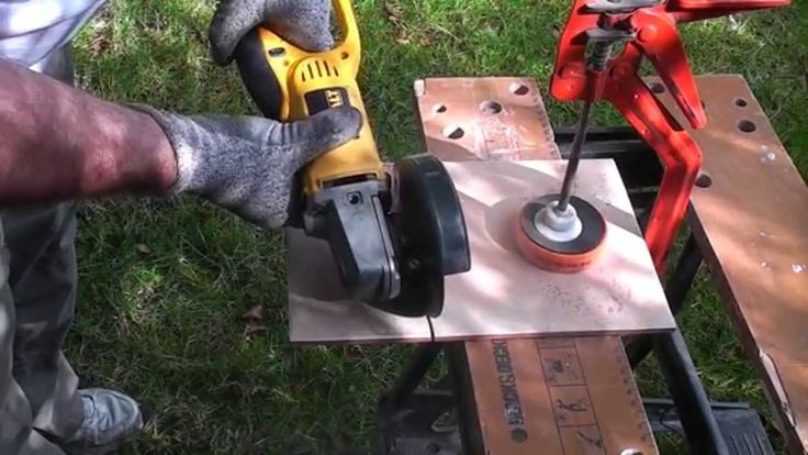 Rools Reader How to Cut Ceramic Tile with a Grinder