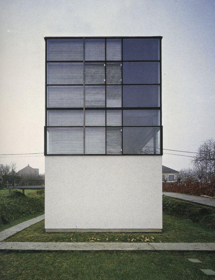 House at Sint-Antelinks, | 1993-1996 | Herzele, Belgium | Eugene Liebaut,: