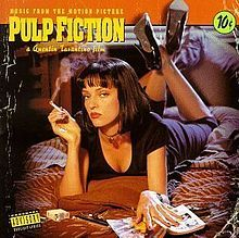 Pulp Fiction (soundtrack) - Wikipedia Music from the Motion Picture Pulp Fiction is the soundtrack to Quentin Tarantino's 1994 film Pulp Fiction. No traditional film score was commissioned for Pulp Fiction. The film contains a mix of American rock and roll, surf music, pop and soul. Wikipedia Release date: September 27, 1994