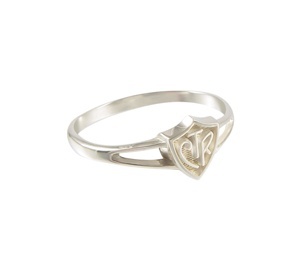 CTR Rings - Women's Plain Saturn CTR Ring   Ringmasters LDS Jewelry and Gifts
