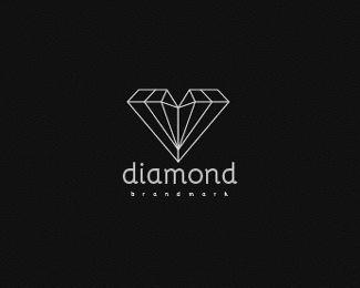 Diamond Logo Design, buy it: http://brandcrowd.com/logo-design/details/81390