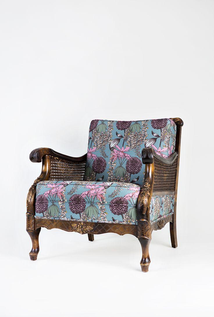 #nojatuoli #verhoilu #chippendale #kankaat #verhoilukangas #abigailborg #verhoomo #tuoli #upholstery #chair