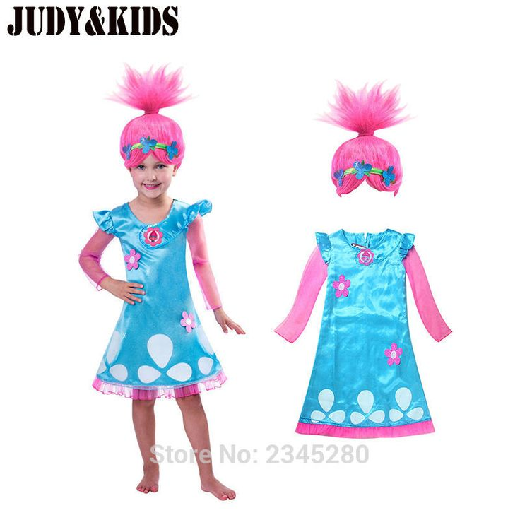 Dresses For Girls Cartoon Wish Wigs Summer Dress A Prom Dress Clothes lace holiday children clothing the fancy dress for girls