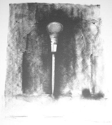 Jim Dine, 1, From Ten Winter Tools, 1973