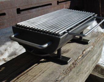 The 824 Hibachinator Hibachi Grill w/ carbon steel by Kotaigrill