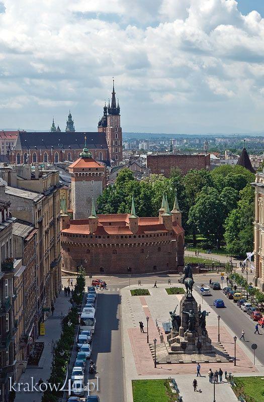 Plac Jana Matejki, Kraków, Poland #cracow #krakow #poland