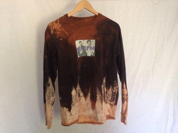 Glum bonnie and clyde unique bleach distressed shirt 1/1 by GX97