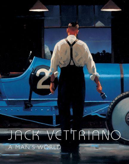 Man's World by Jack Vettriano