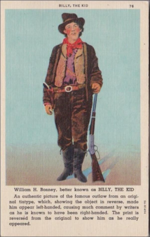 Billy The Kid William H Bonney Curteich