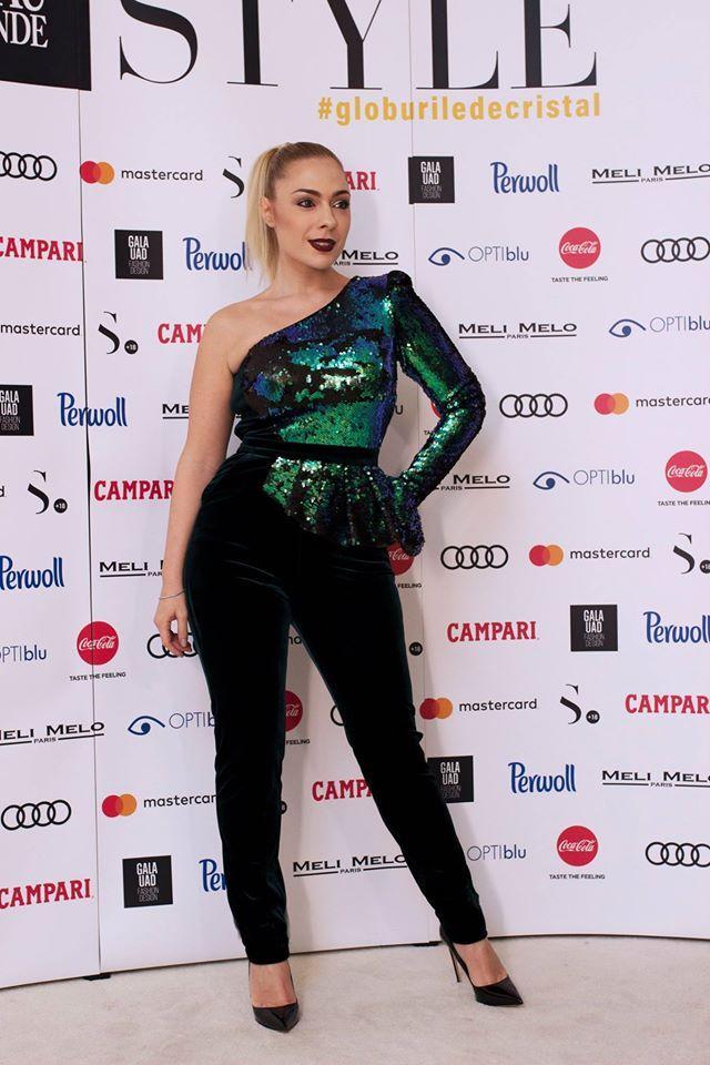CRISTALLINI #Jumpsuit #EveningStyle #Sequins #Velvet #Glamour #Fashion