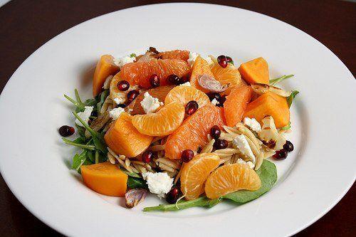 Фруктовый салат из мандарин