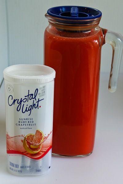 Kalyn's Kitchen®: Kalyn's Kitchen Picks: Ruby Red Grapefruit Crystal Light Drink Mix