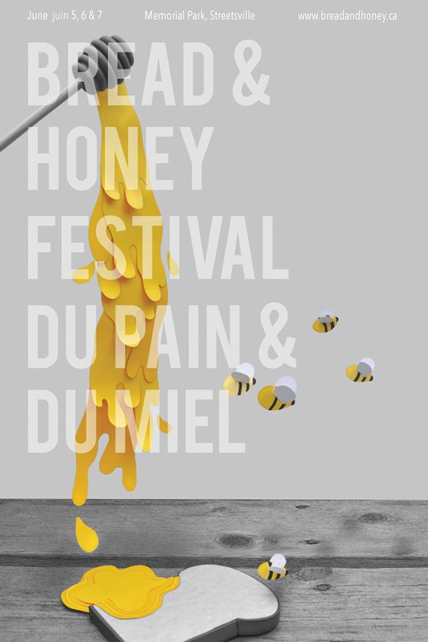 Bread & Honey Festival on Behance