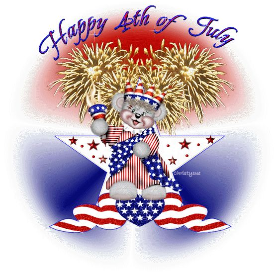 happy 4th of july 3d