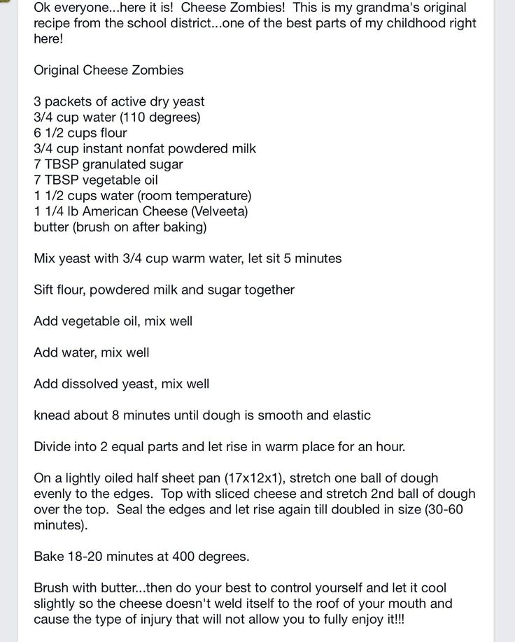 Here's another version of the Yakima School Districts famous Cheese Zombies recipe. Explained a little simpler than my original post. I prefer Costco's Kirkland processed cheese to the Velveeta though. ENJOY!