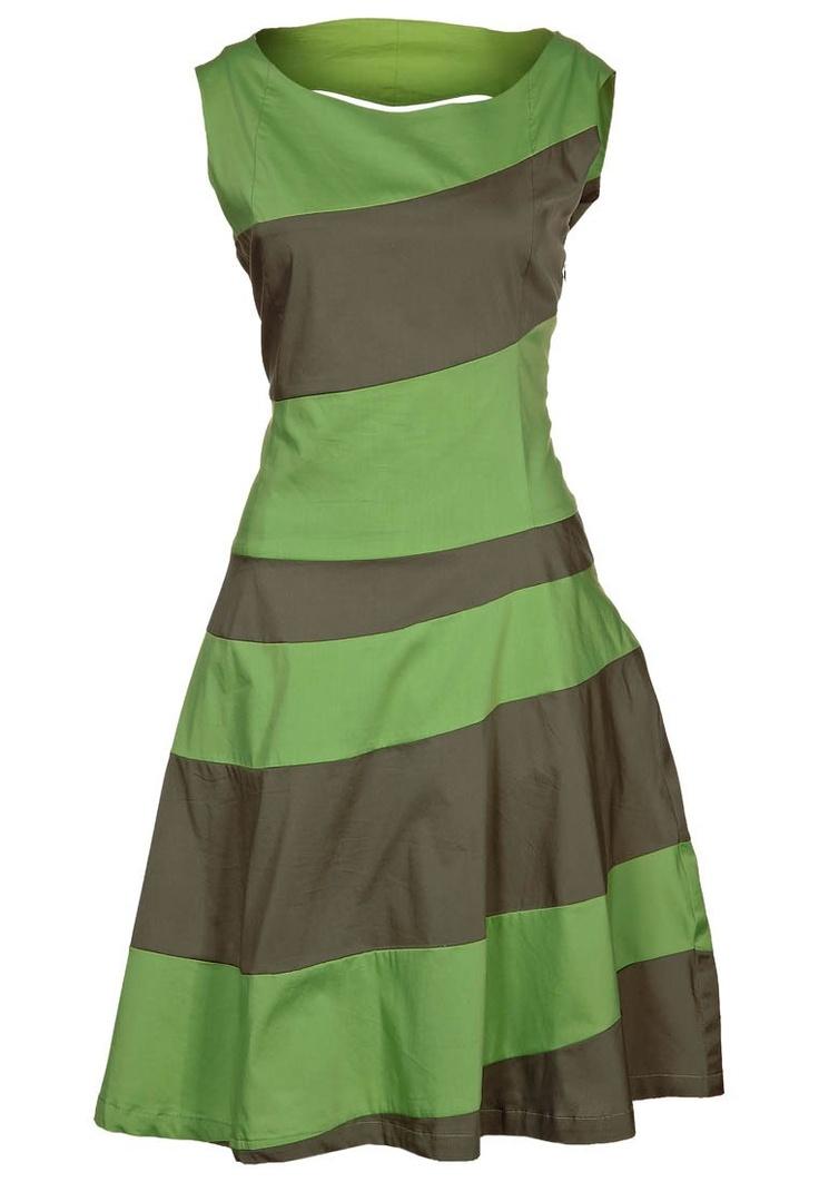 Skunkfunk KARINE - Dress - green