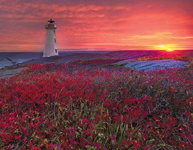 Promotional Calendars 2017 - Atlantic Canada  Atlantic Canada Scenic Maritime Provinces - July  Cape Spear Lighthouse, Newfoundland and Labrador