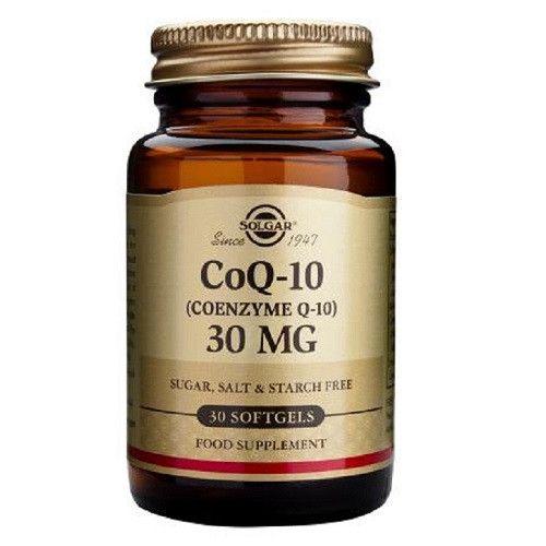 CoQ 10 en aceite 30 mg 30 cápsulas blandas – Herbolario Oriente