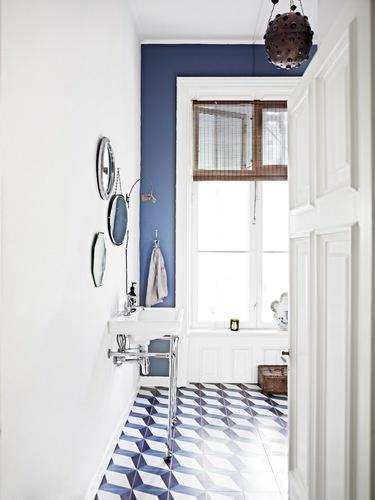 Plaza Tap / NeoClassica Basin, Nina Nyborg Guest Bathroom Featured In Bo  Bedre By AQUADOMO