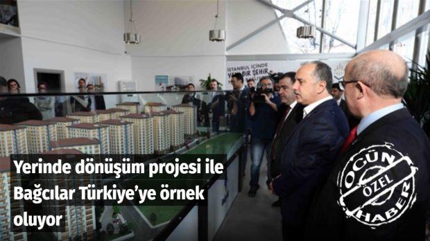Kentsel dönüşüm kapsamında Bağcılar Belediyesi tarafından 3.5 ay önce temeli atılan Şehr-i Bağcılar'ın tanıtımı yapıldı.