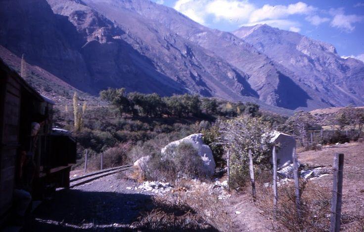 https://flic.kr/p/KQxhZc | tren al Volcan, Chile, 1963, coleccion de Ryan Stansifer