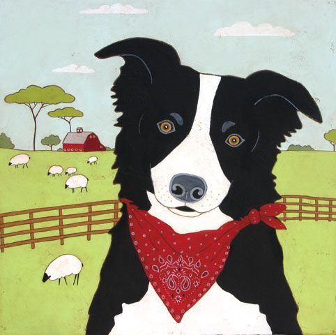 1000 Images About Border Collie Art On Pinterest Sheep