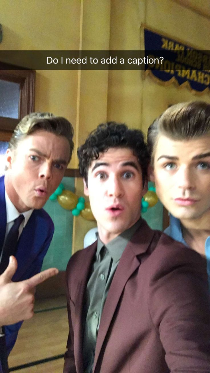 Daily Darren News is a blog dedicated to the multi-talented Darren Criss. We are not Darren Criss,...
