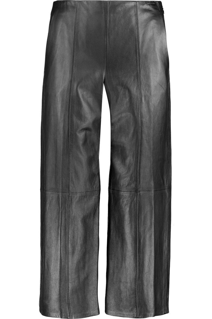 VINCE Leather culottes. #vince #cloth #culottes