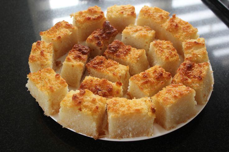 Fijne bojo, Surinaamse kokos/cassave taart