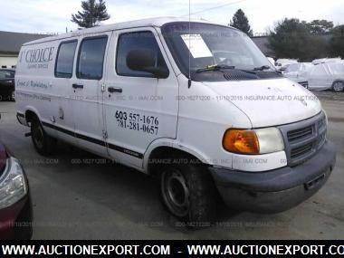 2001 Dodge RamVan D Cargo Van